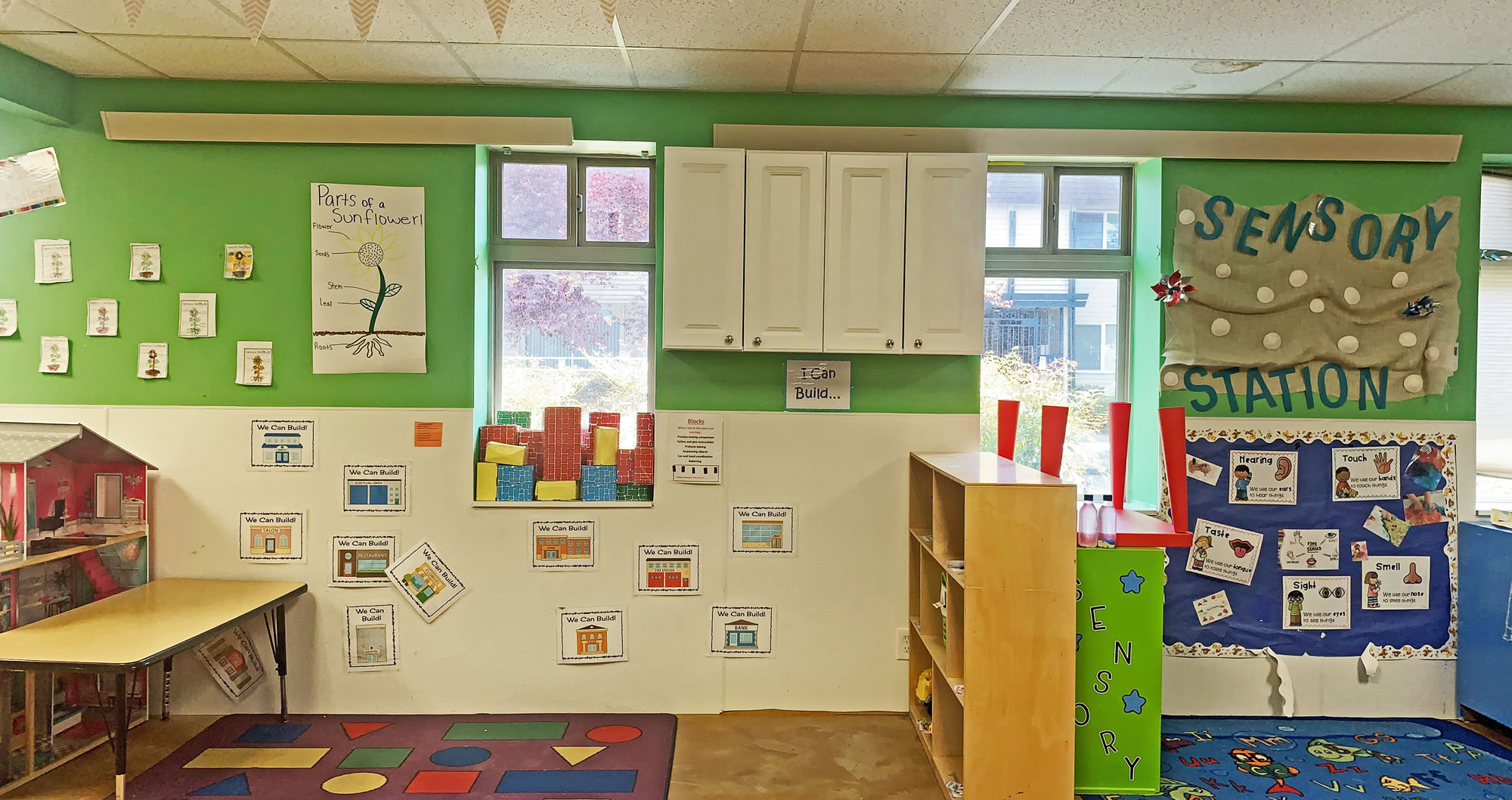 Cove Heaters Mounted Safely in Preschool